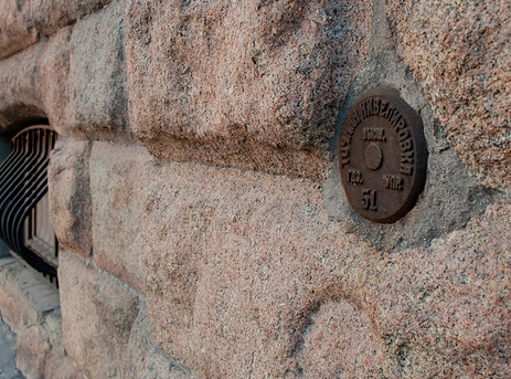 Стенная марка, репер